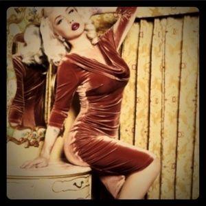 Deadly Dames Film Noir dress